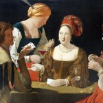 Le tricheur à l'as de carreau, Georges de La Tour