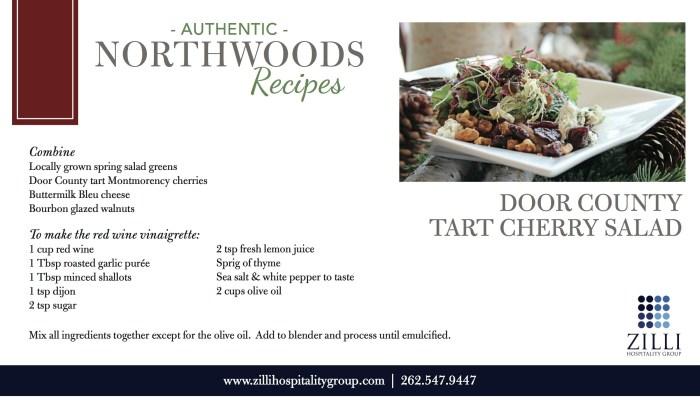Door County Tart Cherry Salad