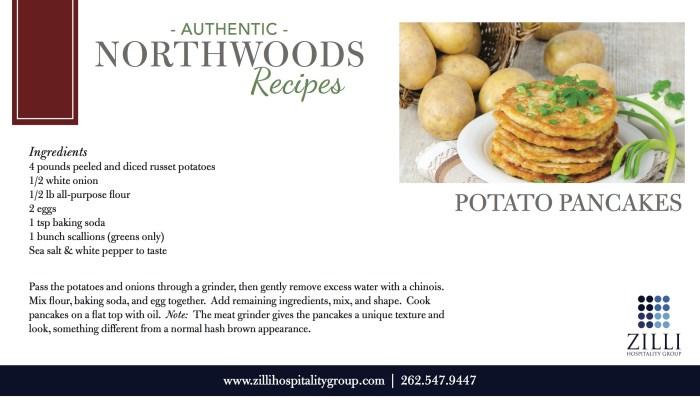 Potato Pancakes recipe