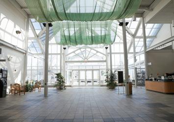 Boerner Botanical Gardens event space.