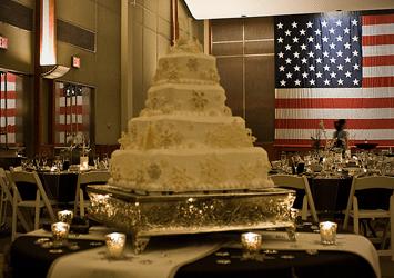 Wedding at the Milwaukee County War Memorial