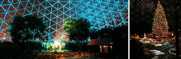 Mitchell Park Domes Best Holiday Party Venue