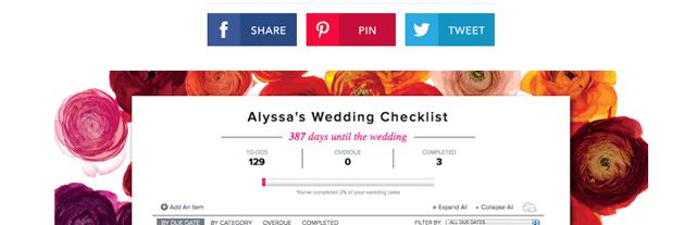 Brides Wedding Checklist