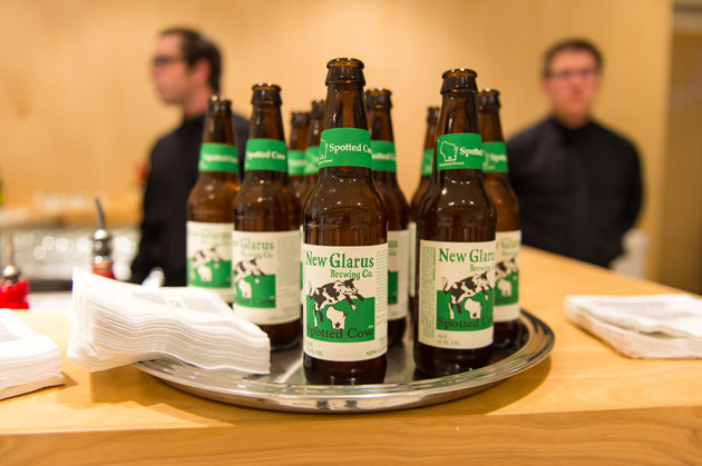 New Glarus Spotted Cow Bar