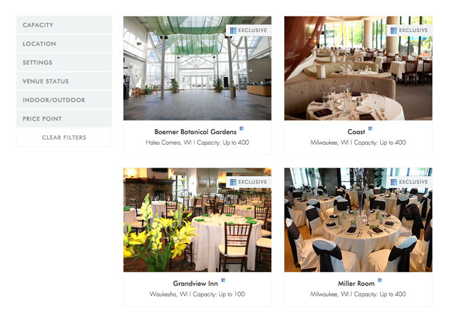 Venue finder for Corporate Events