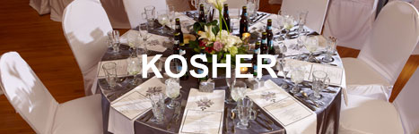 Sample kosher events menu