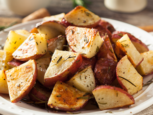 Buffet side: red skin dill potatoes