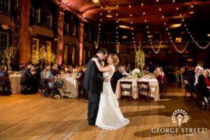 Wedding Event Spotlight: Amie & Matthew's Winter Milwaukee Wedding at Turner Hall