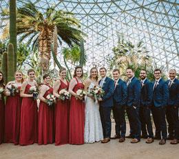 Wedding at The Domes
