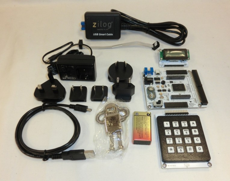 Zilog Student Educational Platform Kit The Zilog Student Educational Platform Kit