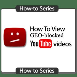 Youtube geo block fix