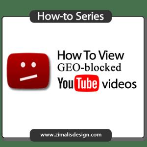 YOUTUBE GEO-BLOCK SOLUTION