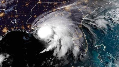 Photo of Hurricane Sally hits   southern US