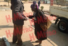 Photo of Granny (72) beaten up by Ben 10 hubby (31)