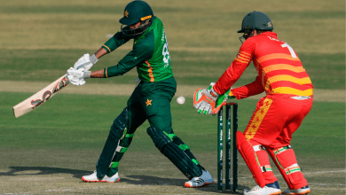 Photo of Pakistan post 281-8 in first ODI against Zimbabwe