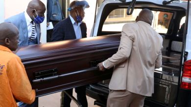 Photo of Janet Munyaka burial today at Glen Forest cemetery