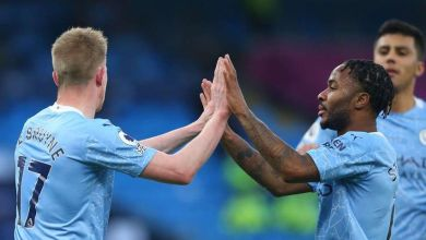 Photo of Sterling back to form as Manchester City stroll past Fulham