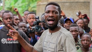 Photo of Bobi Wine claims victory in Uganda vote, despite early results showing him behind