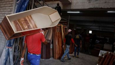 Photo of South Africa turns to temporary morgues as Covid-19 deaths soar