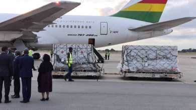 Photo of Vaccines from China arrive at Harare airport (PICTURES)