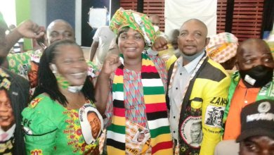 Photo of Zanu-PF Zvishavane welcomes Lilian Timveos | PHOTOS