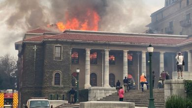 Photo of Cape Town fire: China donates R200,000 to University of Cape Town