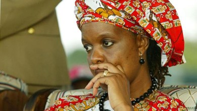 Photo of Grace Mugabe in bid to bar police from searching her premises for stolen property