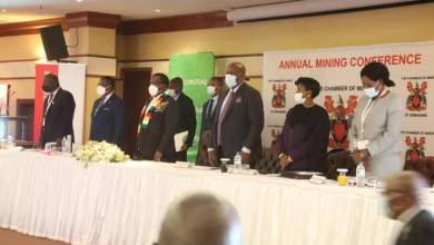 Photo of President Mnangagwa officially opens Chamber of Mine conference