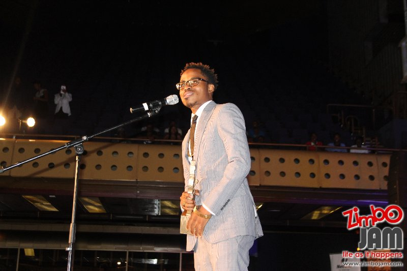 Award winning Hip Hop artist Cal_vin at the seventh edition of ZIMA.