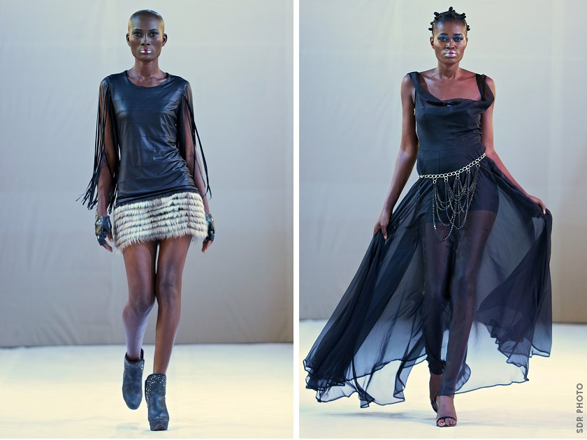 Designs from David Alford's 'Centurion' collection. PIC: SIMON DEINER/ SDR Photo