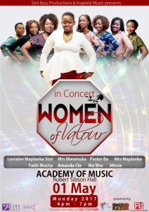Women of Valour in Concert @ Robie Sobinson Hall, Zimbabwe Academy of Music | Bulawayo | Bulawayo Province | Zimbabwe