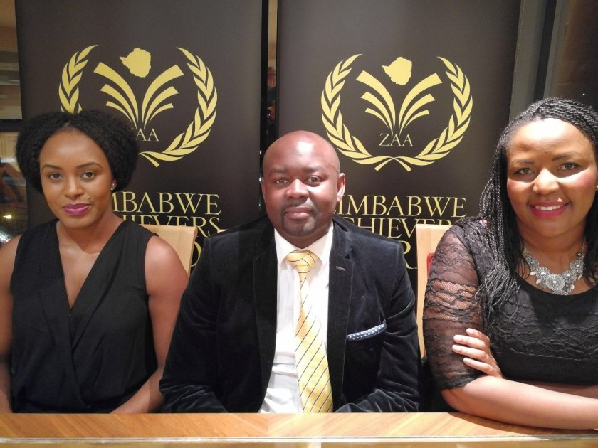 Miriam Bandera, Tawanda Chiwira and Thembi Nkala of ZAA PIC: COURTESY OF ZAA