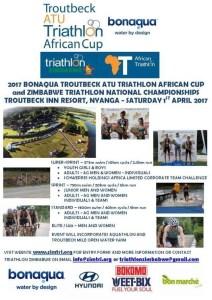 2017 BONAQUA TROUTBECK ATU TRIATHLON AFRICAN CUP @ Troutbeck Inn Resort | Nyanga | Manicaland Province | Zimbabwe