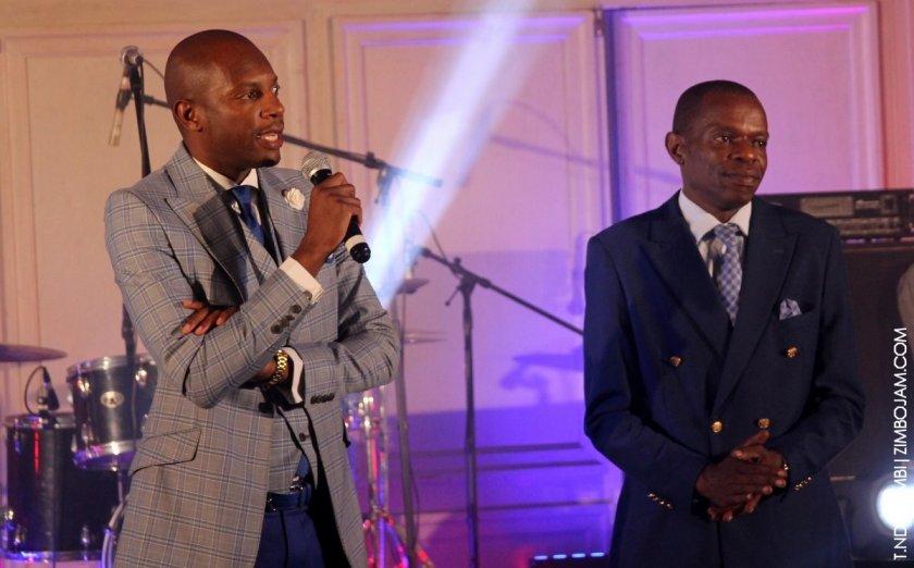 Chamu and Ronald Chiwanza PIC: T. NDABAMBI | ZIMBOJAM.COM