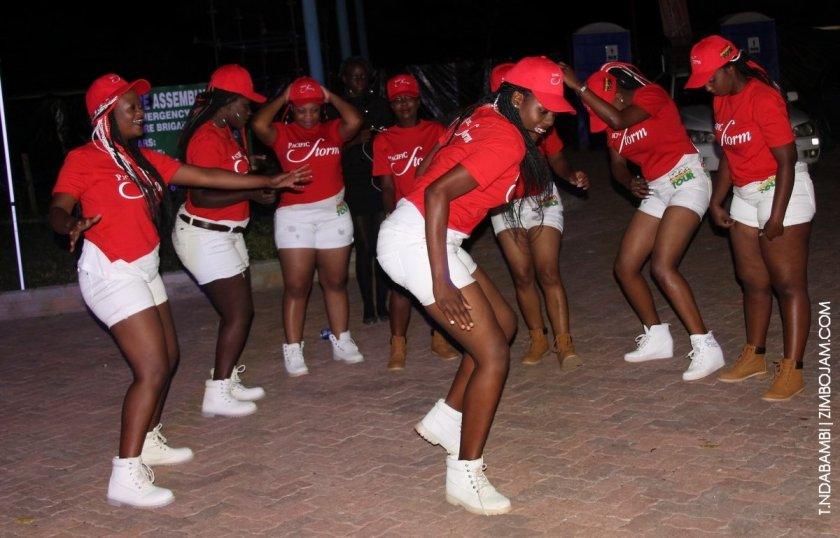 Dancers from Pacific Storm PIC: T.NDABAMBI | ZIMBOJAM.COM