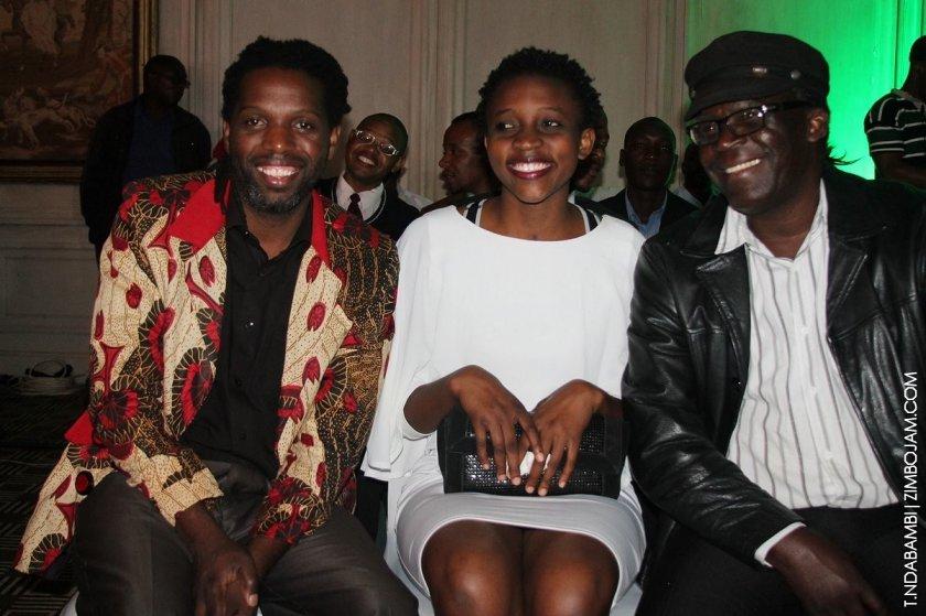 Elton Mjanana (left) and Bob Nyabinde PIC: T. NDABAMBI | ZIMBOJAM.COM