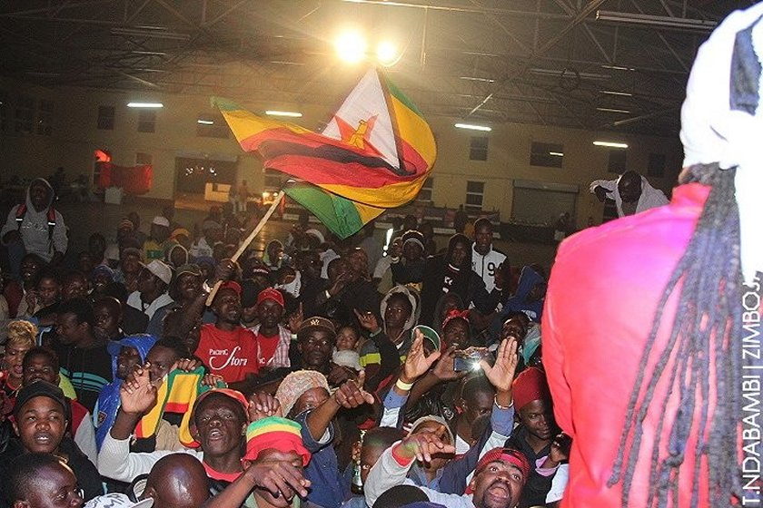 The crowd at the Harare show PIC: T. NDABAMBI | ZIMBOJAM.COM