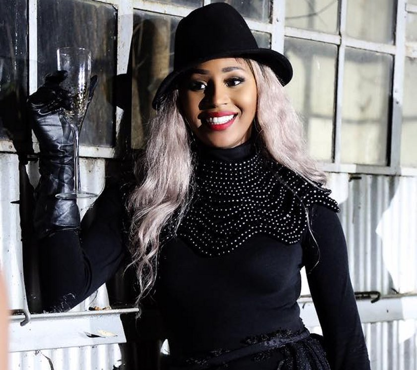South African based Zimbabwean pop singer, Vanessa Sibanda popularly known as Queen