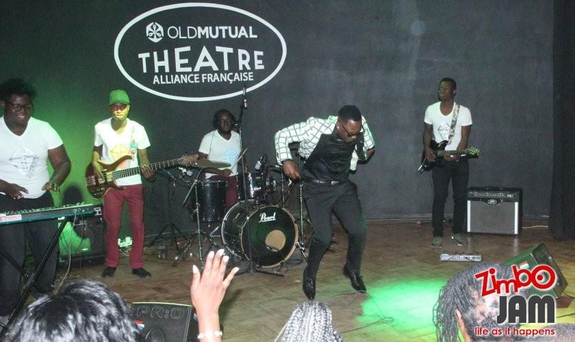 Stunner doing some traditional dance moves. PIC: T. CHIHAMBAKWE | ZIMBOJAM.COM