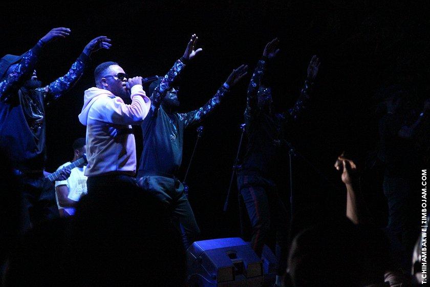 The Nhema singer in action. PIC: T. CHIHAMBAKWE | ZIMBOJAM.COM
