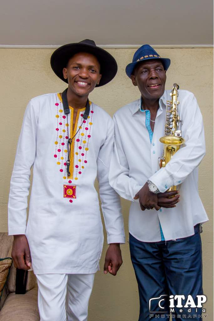 Joesph and Music Legend, Dr. Tuku PIC: COURTESY OF iTAP