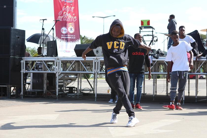 Break-boy dancer showing off his skills PIC: COURTESY OF JIBILIKA