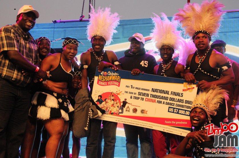 2018 Chibuku Nesahwira Dance Festival winners in the traditional dance category, Guruve Marimba Dance Group. PIC: T. CHIHAMBAKWE | ZIMBOJAM.COM