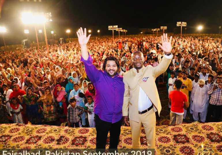 More than 40,000 attend Prophet Kofi DANSO Pakistan crusade