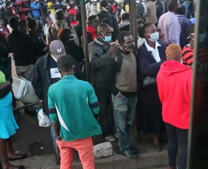 Police, Army Tighten Lockdown Around Harare CBD