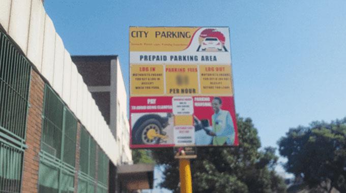 Harare City Parking scraps 30-minute parking option