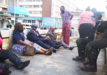 "MDC Alliance officials charged with ""criminal nuisance"" – PICTURES"