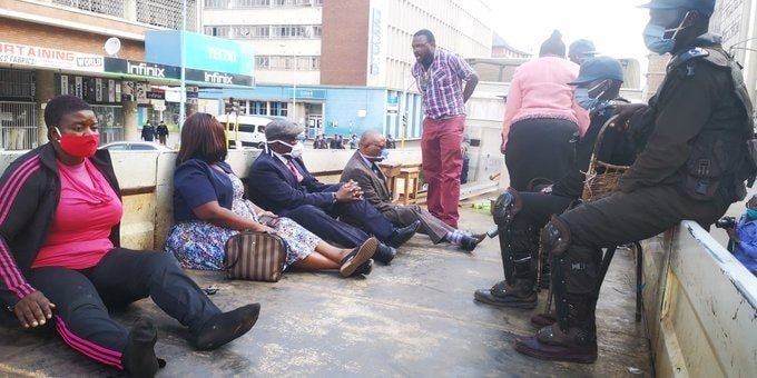"""MDC Alliance officials charged with """"criminal nuisance"""" – PICTURES"""