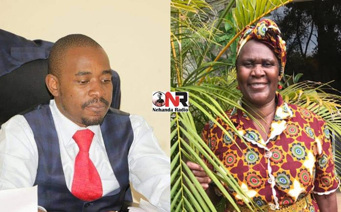 Opposition leader Nelson Chamisa's mother dies