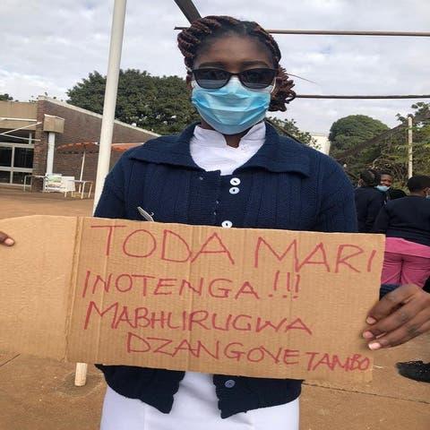 Striking Nurses Receive 'Double Salary'